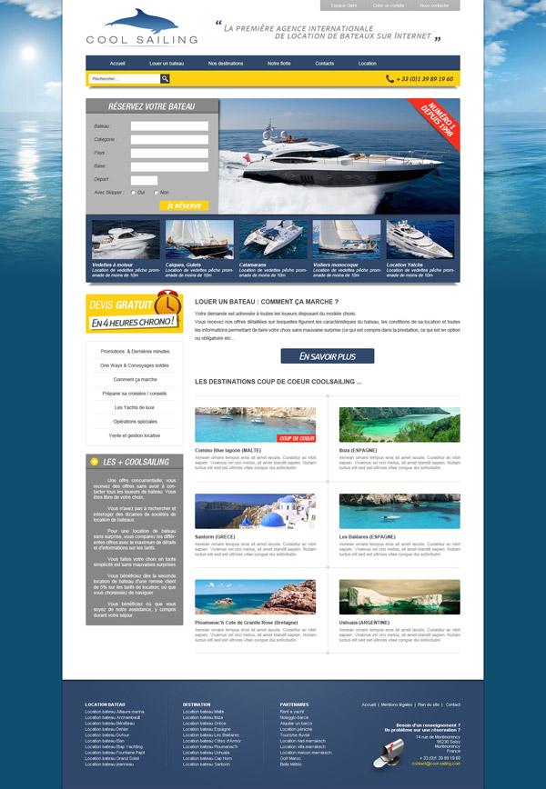 webdesign coolsailing